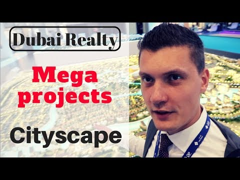 Cityscape in Dubai: Megaprojects!
