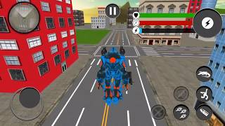 Futuristic Robot Crocodile: Transforming Robot Game | Android/ios Gameplay 2018