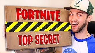 EPIC GAMES sent me a *SECRET* FORTNITE package!