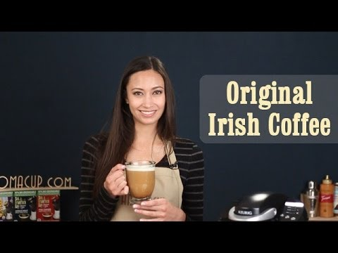 How to make Original Irish Coffee | Keurig Coffee Recipes