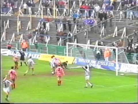 1992-93 West Bromwich Albion v Brighton