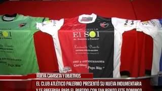 El Club Atlético Palermo presentó su nueva indumentaria