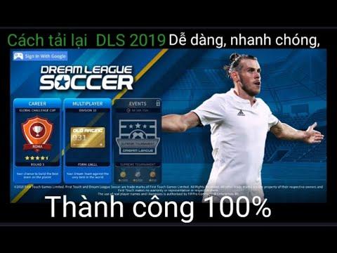 tai game dream league soccer hack full tien - Cách tải lại Dream League Soccer 2019. Đã bị xóa trên CHplay . Cực kì đơn giản.