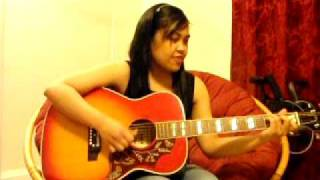 The Show - Lenka (acoustic guitar cover)