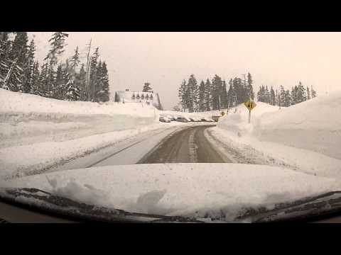 Mount Baker Highway Winter