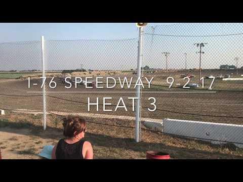 9/2/17 dwarfcar heat 3 I-76 Speedway