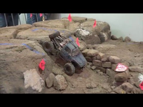 RC Rock Crawling w/ winch Scale Trials | Mortorama 2016