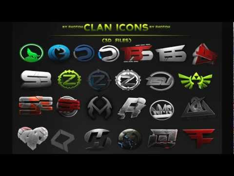 Clan Icon Pack 3D Files