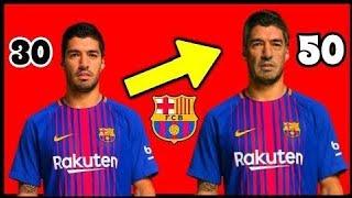 Veja os jogadores do Barcelona Aos 50 anos de Idade! 2017