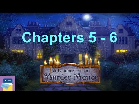 Adventure Escape: Murder Manor: Chapters 5 & 6 Walkthrough Guide (by Haiku Games)