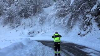 Avalanche Mayens de Saxon Valais Suisse