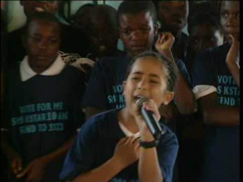 Diego Revilla Singing in Manda Hill - Lusaka