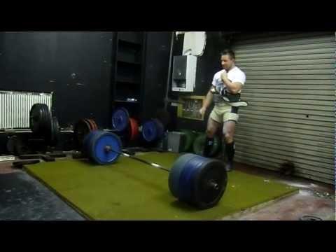 Chris Jenkins - 320kg deadlift