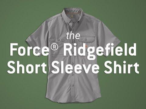 Carhartt 102417 - Force® Ridgefield Short Sleeve Shirt