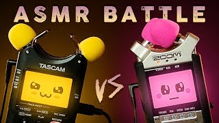 ASMR Tingle Battle – TASCAM vs ZOOM Kawaii Trigger Tournament