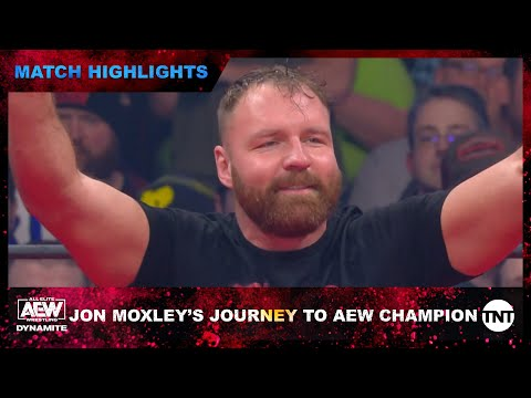 Jon Moxley's Scamper to AEW Champion [Match Highlights]