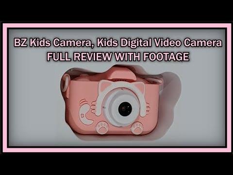 How Good Are $30 Kids Cameras Really? BZ Kids Camera, Kids Digital Video Camera, 1080P  FULL REVIEW