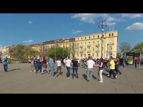 International Rueda de Casino - Multi Flash Mob Day - ZAGREB - 01.04.2017.