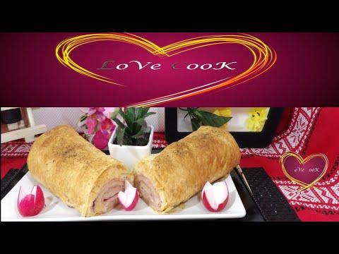 pate-feuilletée-au-jambon-fromage---#love-cook