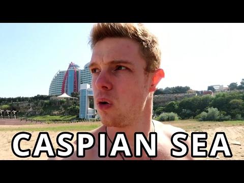 Caspian Sea, Baku, Azerbaijan