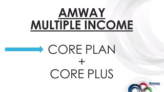 05. Supporting Document - Value (Amway Multiple Income - Core Plan)