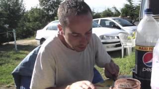 Avez vous deja vu ...? La tartine bretonne au camping le pre vert !!!!!!