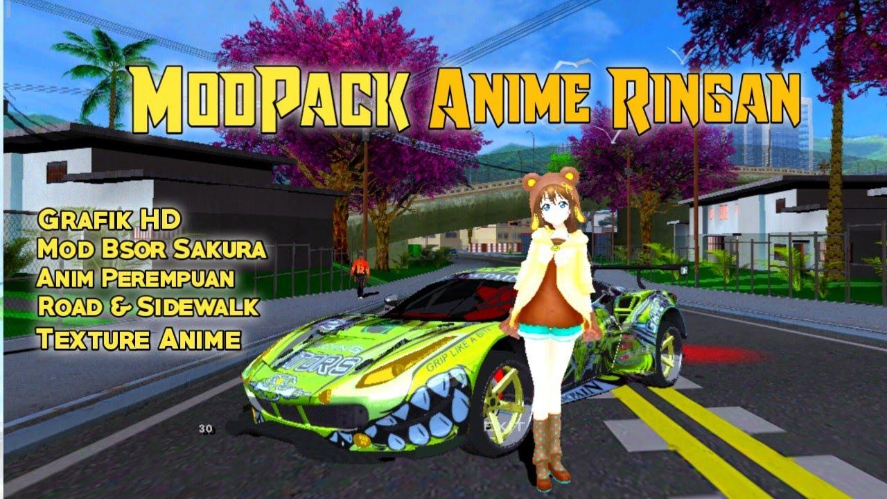 Mod Pack Anime Gta Sa Android 3 Youtube
