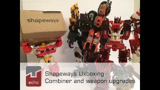 Shapeways Unboxing  Feb 2019