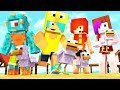 COME HERE CHICKENS! Minecraft Summer Family Survival with the CREW