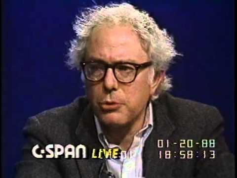 Bernie Sanders' First Appearance on C-Span, Answers Questions from Callers