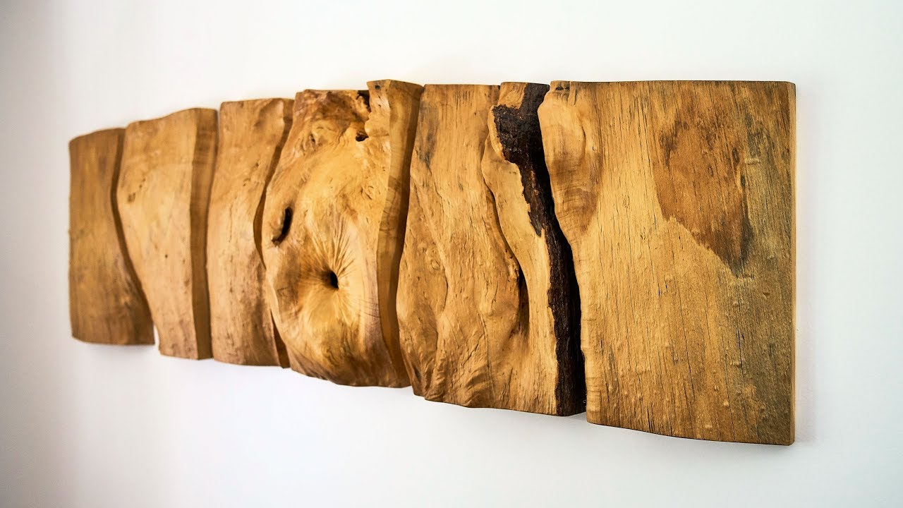 Making A Natural Wood Wall Sculpture
