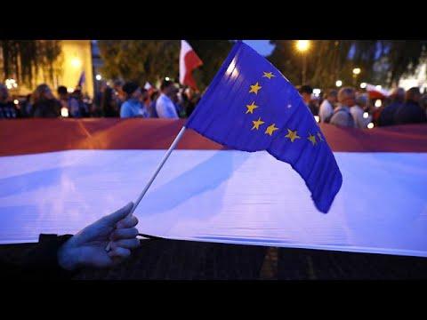 EU warns Poland over law reforms