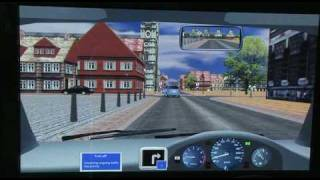 DriveZone International driving simulator: Urban driving