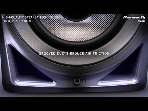 Pioneer DJ DM-40 Official Introduction
