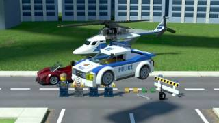Lego 60138 | HIGH SPEED CHASE | 3D Product Review