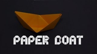 How To Make Origami Paper Boat ( By Origamiartists )