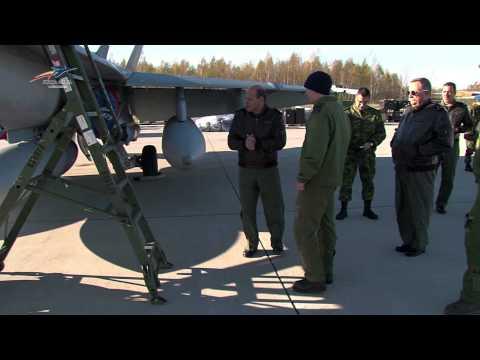 CEMFA visita Destacamento Português Baltic Air Policing