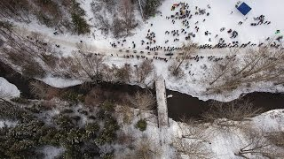 Iditarod from above