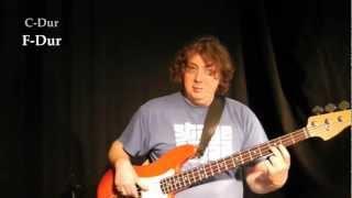 STAGE AHEAD Basslessons - Basslines mit Dur-Arpeggien