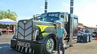 2014 Custom BIG RIGS video's 75 Chrome Shop, Custom Truck Show, Part 1