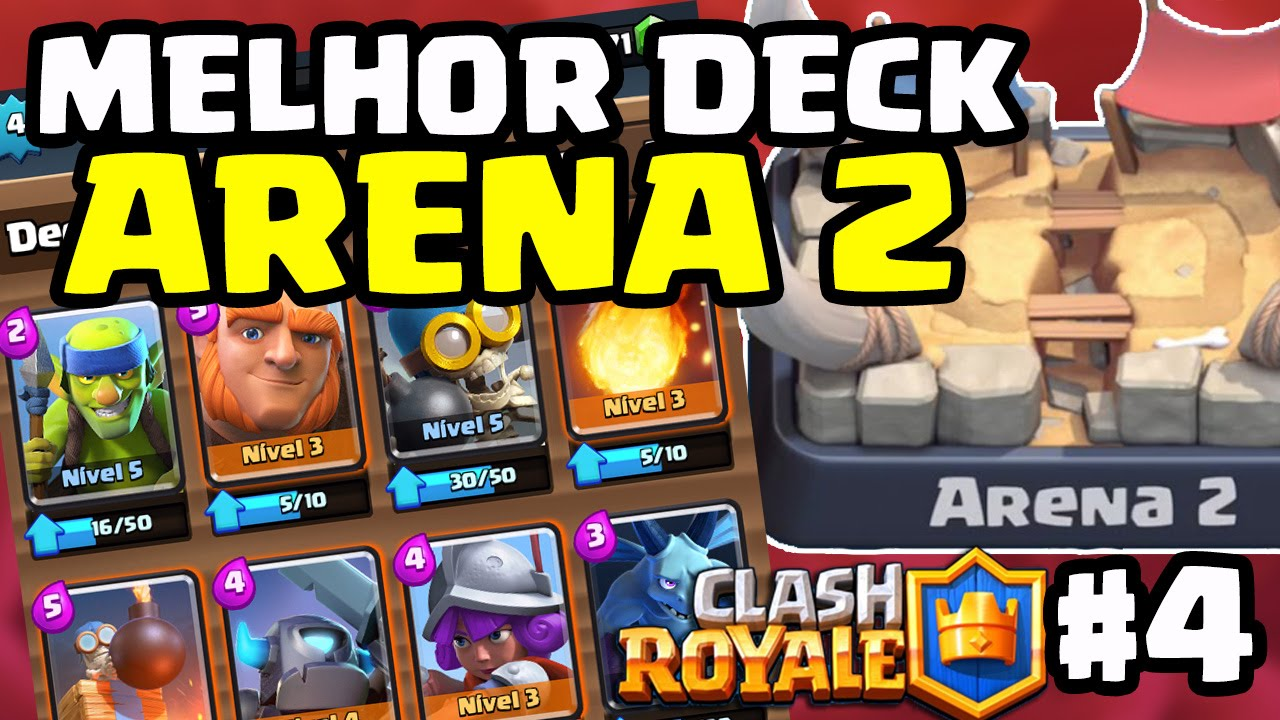 Clash Royale Deck Arena 2 Deutsch