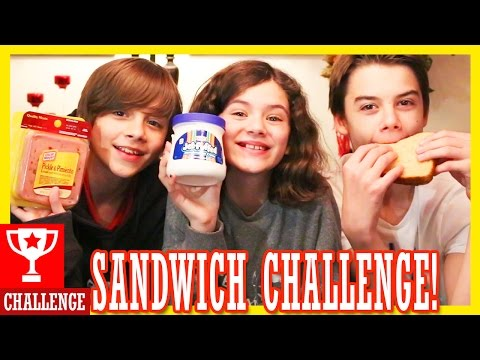 THE SANDWICH CHALLENGE!!  |  KITTIESMAMA