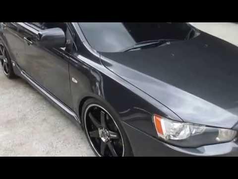 รถราคาถูก มือสอง ยี่ห้อ Mitsubishi (มิตซูบิชิ) รุ่น Lancer GT (แลนเซอร์ จีที) สีดำ ปี 2009 #UC12
