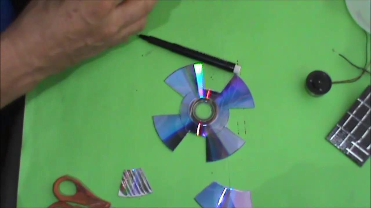 Como hacer un mini ventilador solar para escritorio youtube - Como solar un suelo ...