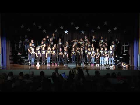 "Edison Elementary 4th & 5th Grade ""Edison on Broadway"" Chorus Fall 2017"