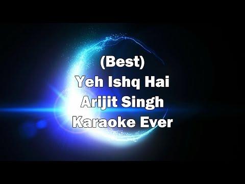 Yeh Ishq Hai Karaoke with Lyrics + Download link in Description | Arijit Singh | Rangoon