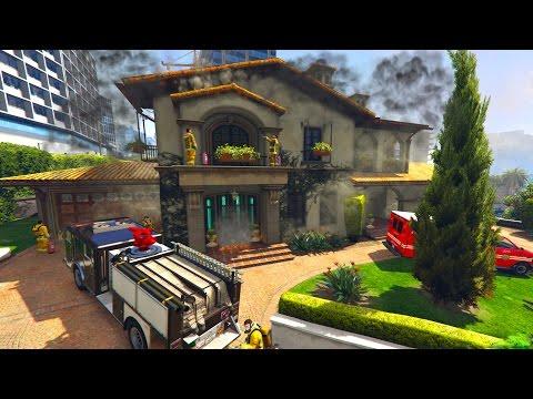 GTA 5 CAN WE BREAK MICHAEL HOUSE? Destroying Micheal House On GTA 5 (GTA 5 Easter Egg)