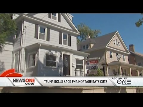 On His First Day In Office Trump Screws Over Low & Middle-Income Homeowners