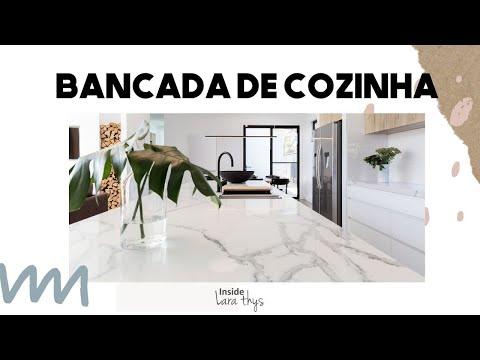 Bancada de Cozinha - GRANITO, MÁRMORE, INÓX E MAIS...