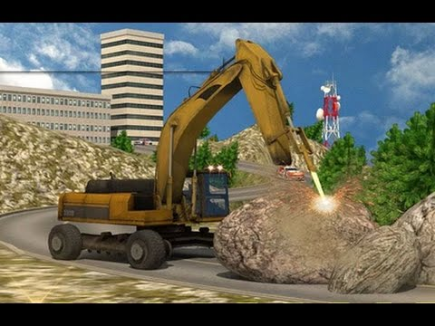 Heavy Excavator: Stone Cutter -Android Gameplay HD